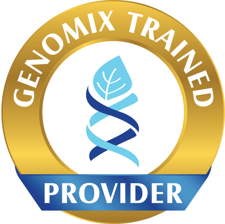 Genomix Trained Provider logo