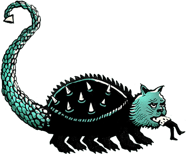 depiction of a tarasque