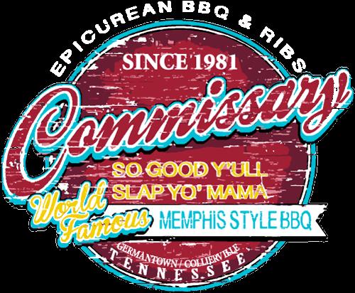 Commissary Bbq Memphis Style Bbq Ribs