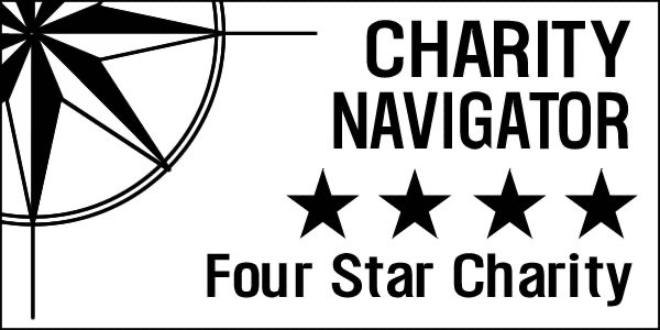 Charity Navigator – Four Star Rating
